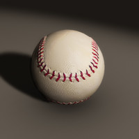 baseball home ball 3d model