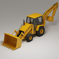 Backhoe loader HPV