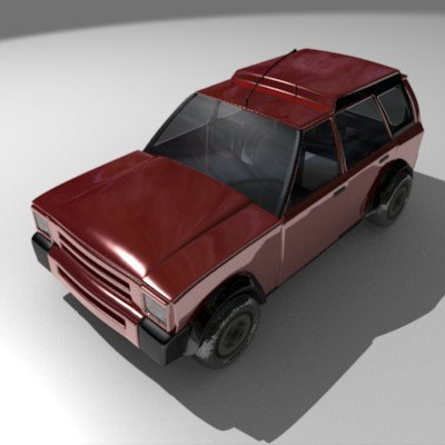 3d model car van