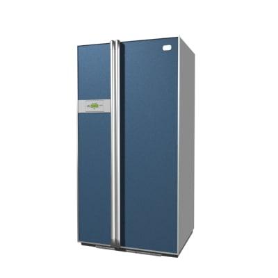 fridge refrigerator 3d max
