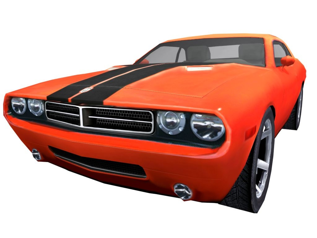 3ds max new 2008 dodge challenger