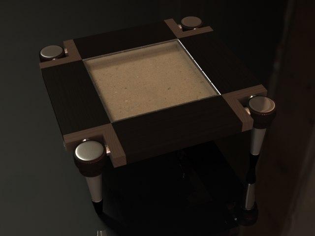 table sand obj free