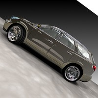 3ds max buick enclave suv