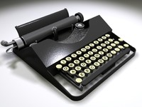 Typewriter (3DS, MAX, OBJ)