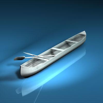 canoe paddles 3d 3ds