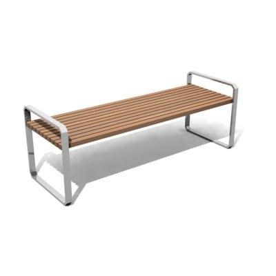 park bench 01 3d max