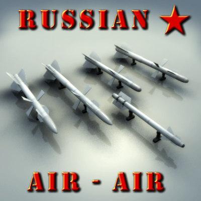 3d air-air missile