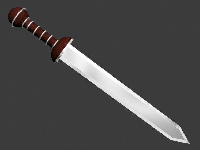 3ds gladius sword