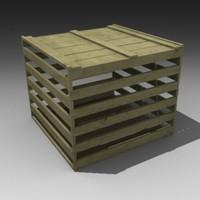 3d crate