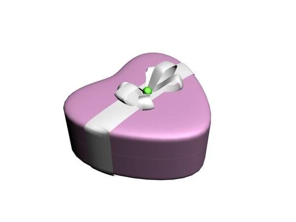 free giftbox gift box 3d model
