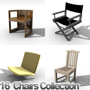 3d model furniture chairs
