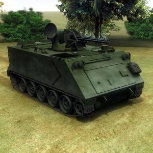 m163 vulcan 3d model