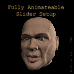 3d head -