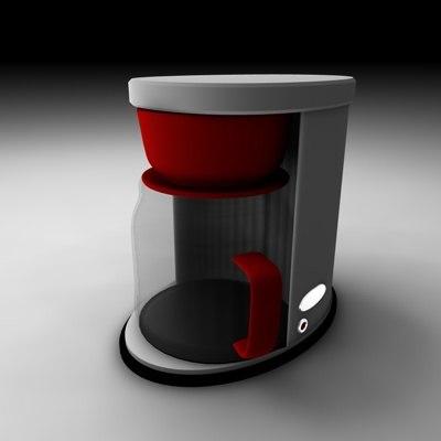 coffee machine 3ds