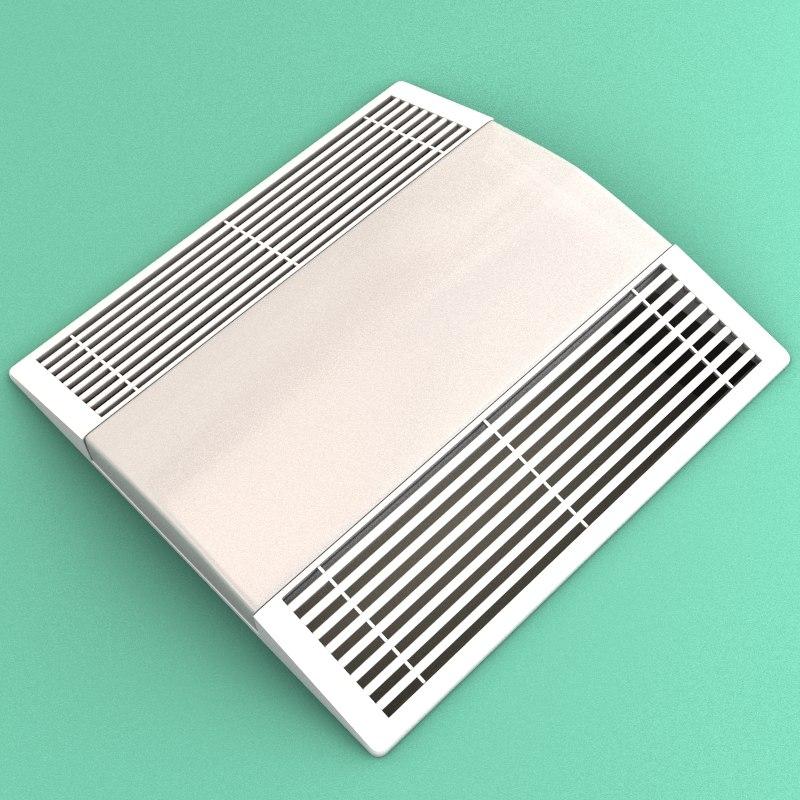bath fan 3d model