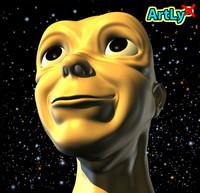 maya head mutant