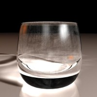 free scotch glass 3d model