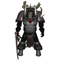 chaos lord mech warrior 3d 3ds