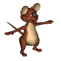 3ds cartoon mouse