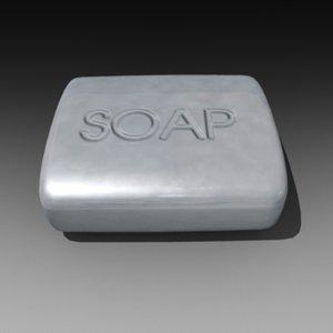 3d soap bar
