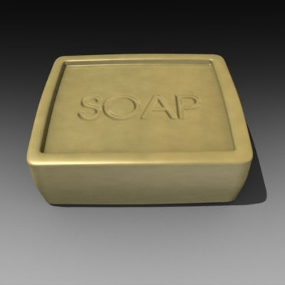 3dsmax soap bar