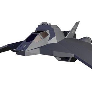 f-302 3d model