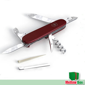 pocket swiss knife 3d model