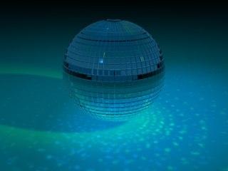 mirror ball disco 3d model