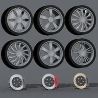 3d alba wheels