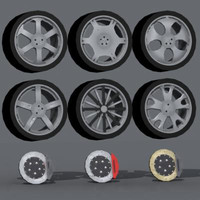 giovanna wheels 3d model