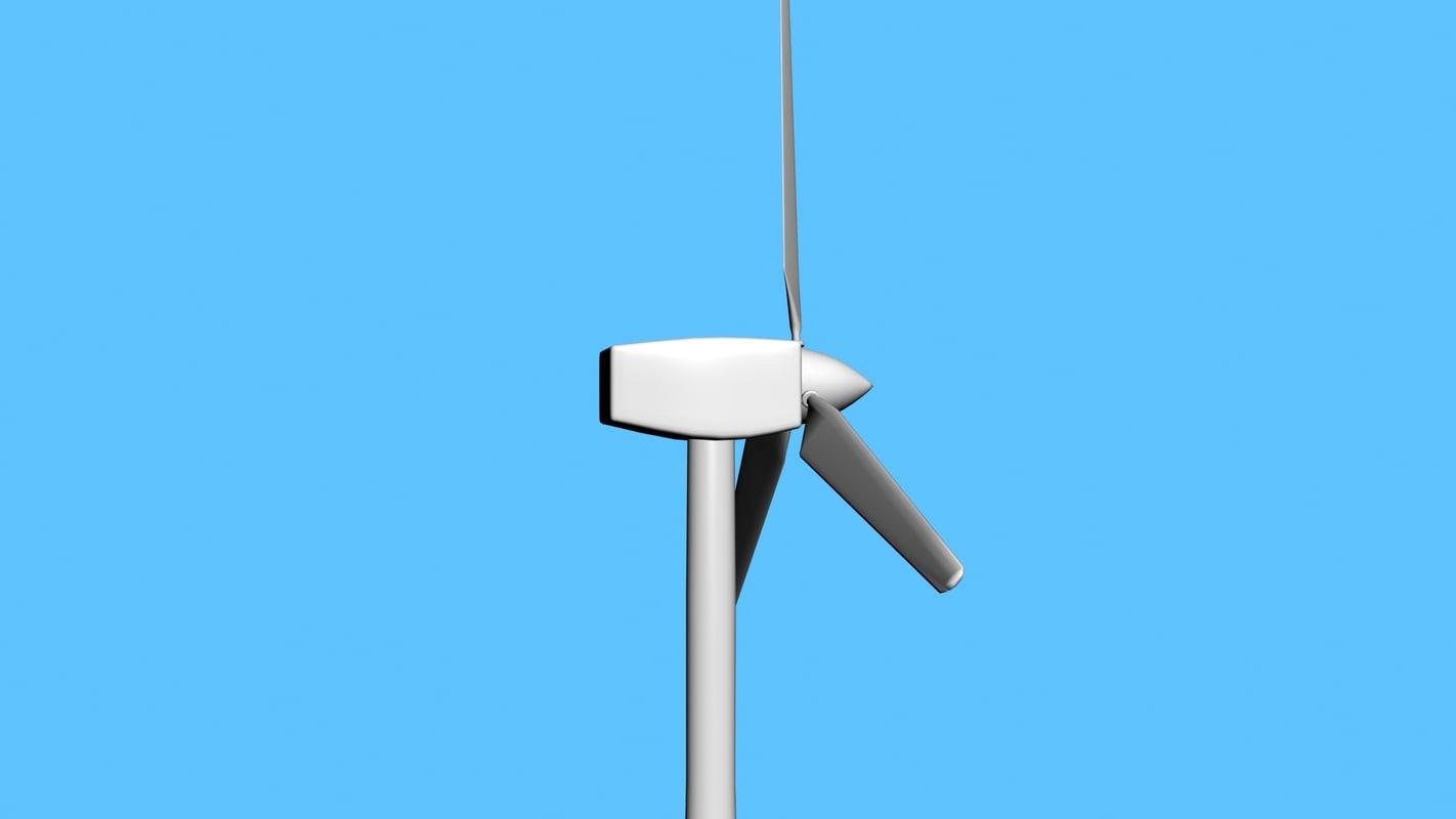 wind turbine 3ds