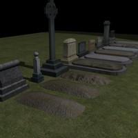 3D grave dirt A
