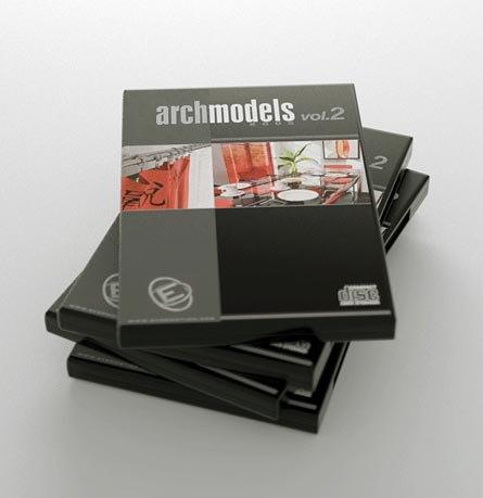 vol archmodels 2 3d model