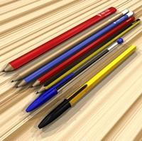 3d pens pencils