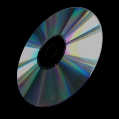 3d model cd dvd storage