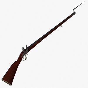 3d musket model