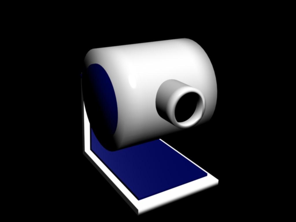 3d model webcam