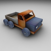 cinema4d wood truck