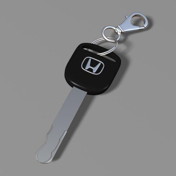 3dsmax car key