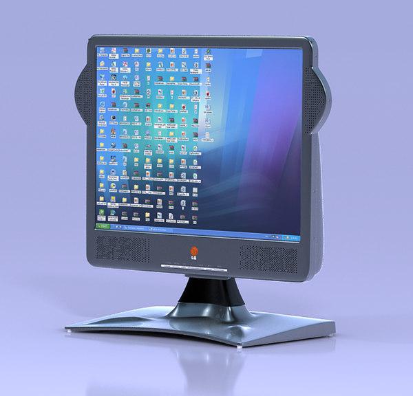 3dsmax lcd monitor