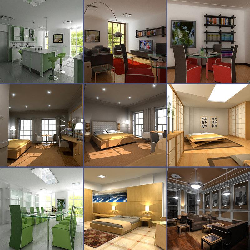 interior scenes max