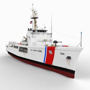 3d model coast guard wmec 210