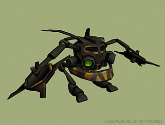 character enemy robot max