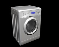 washer 3d max