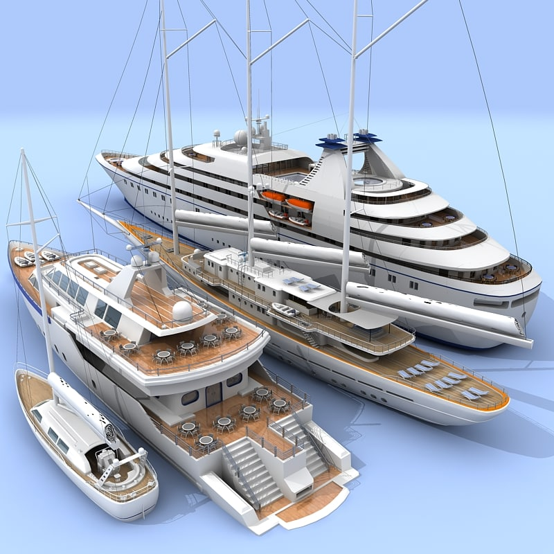3ds max boat cruise ship