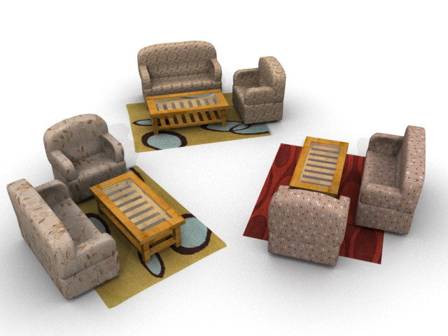 lwo sofa set