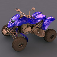 bombardier jeep car 3d model