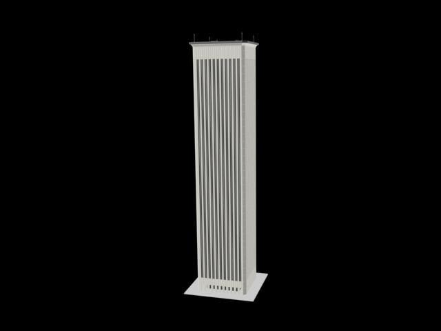 3d 3ds skyscraper