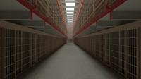 3d prison jail model