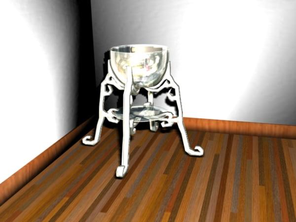 maya gothic modern vase